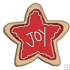 REF674 - Christmas Star Cookie