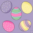 Little Easter Bunnies 11 - Background Tiles