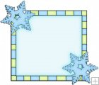 Let It Snow Squares 11 - Snowflake