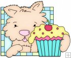 Doggy Squares Cupcake 7