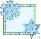 Let It Snow Squares 10 - Snowflake