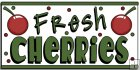 REF398 - Fresh Cherries Word Art