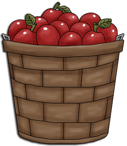 basket of apples clip art images