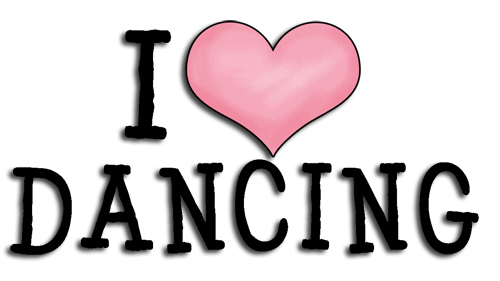 Ref216 I Love Dancing Word Art 163 0 17 Commercial Use Clip Art