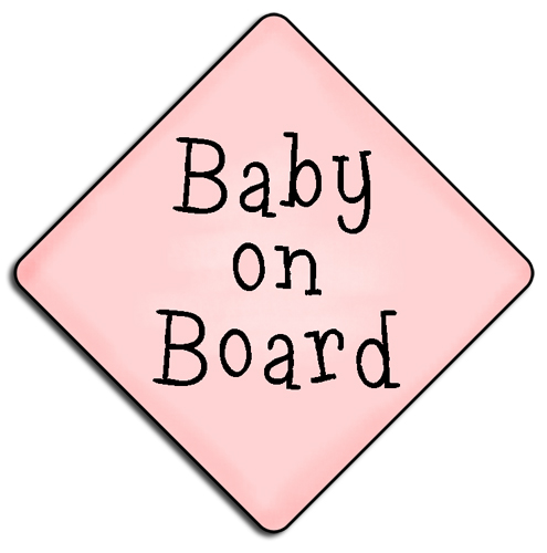 clipart baby on board - photo #5