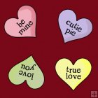 Valentine Critters 9 - Background Tile